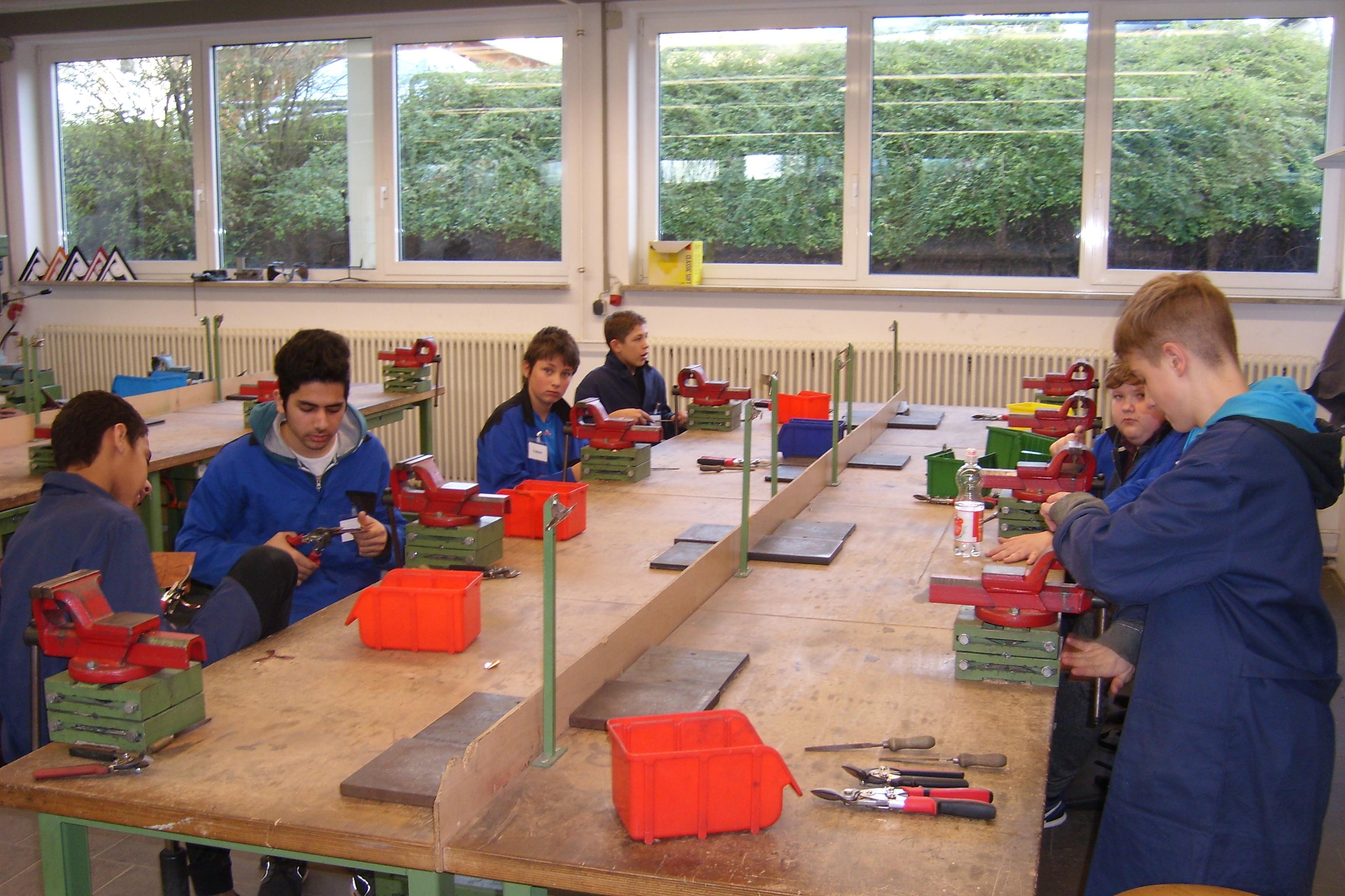 Berufsorientierung der 7. Klassen bei Kolping-Amberg